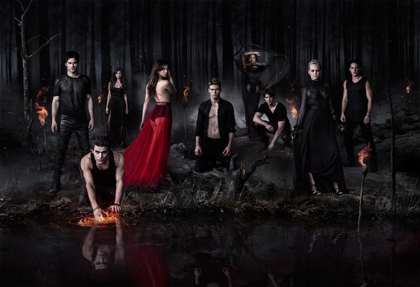 The Vampire Diaries Season 5 cast