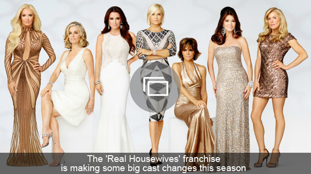 The 'Real Housewives' franchise is making some big cast changes this season