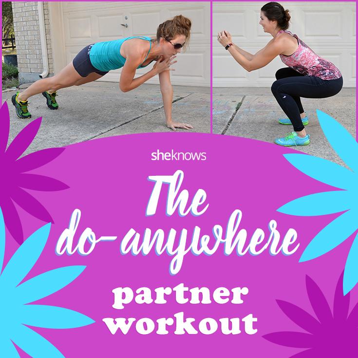 Partner workout tutorial