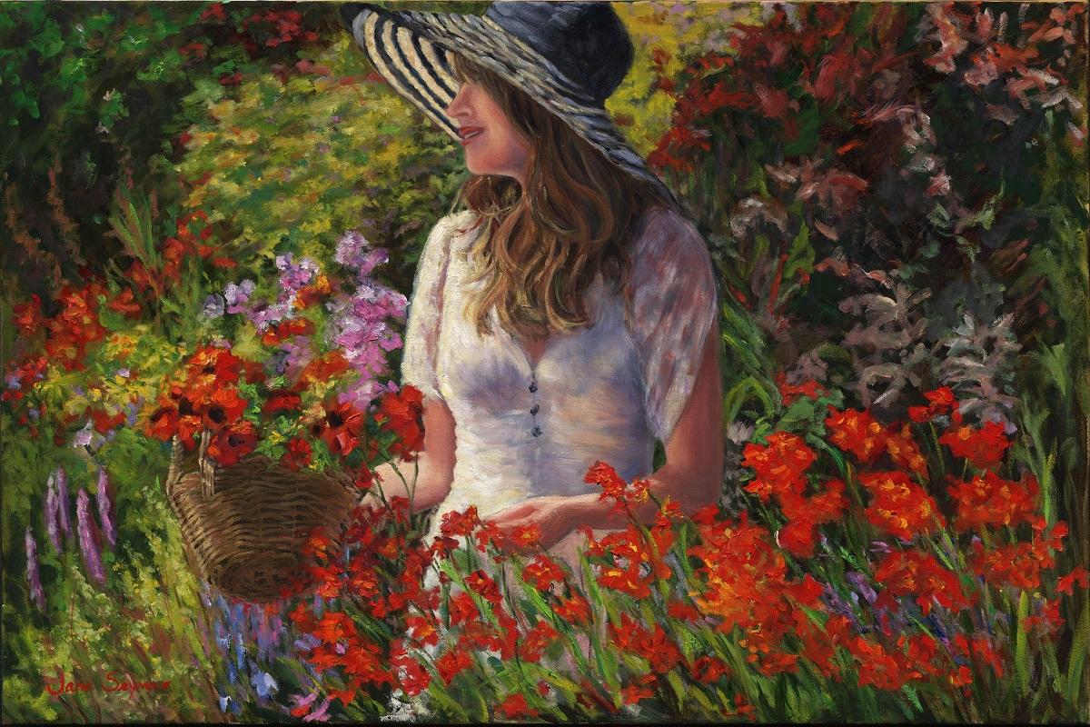 Jane Seymour painting - Joyous Heart