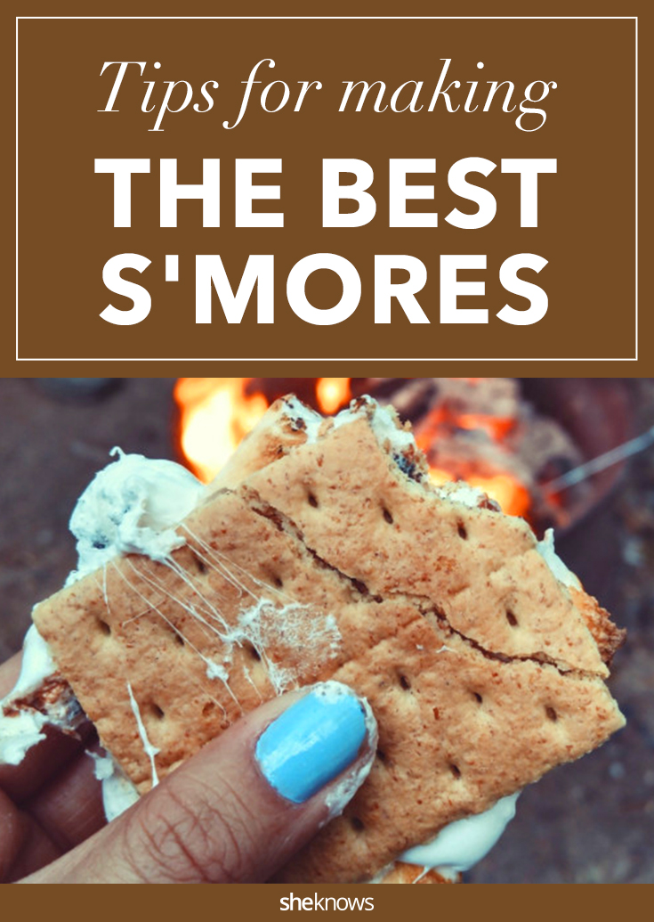 tips for s'mores
