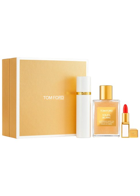 Tom Ford Soleil Blanc Shimmer & Travel Set