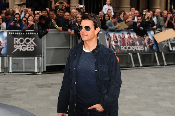 Tom Cruise at ROA premier