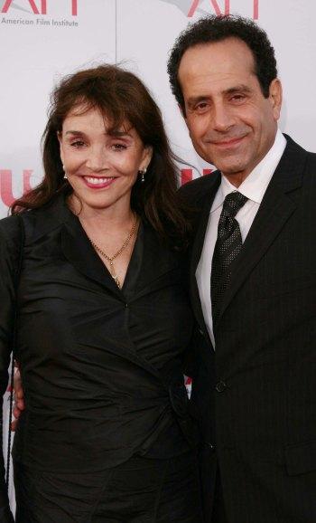 Tony Shalhoub and his wife, actress Brooke Adams