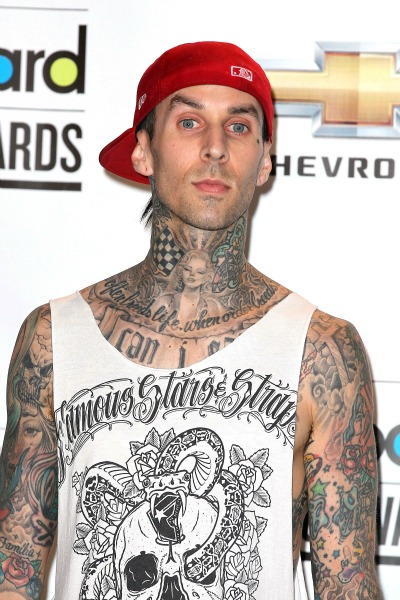 Travis Barker Blink 182