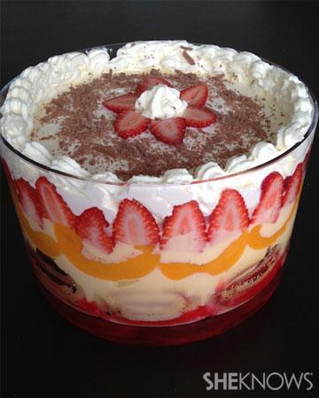Retro trifle recipe