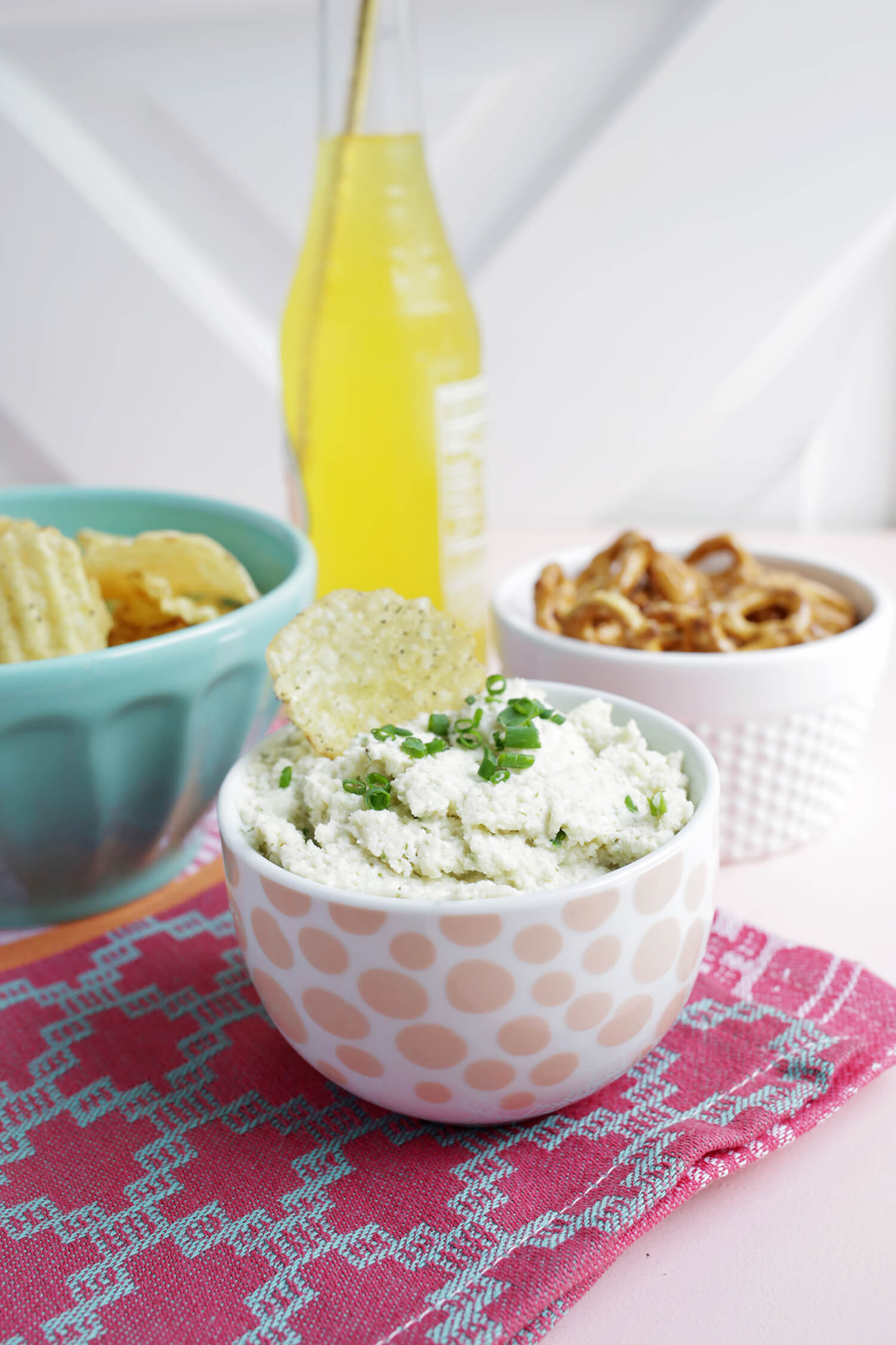 Truffle Chive Chip Dip