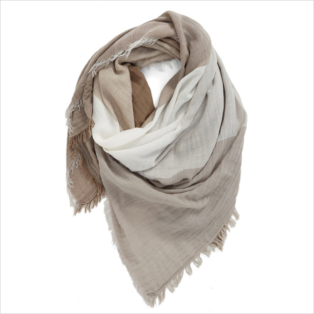 BP Check Woven Square Scarf
