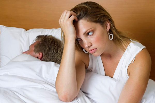 Woman unhappy with relationship