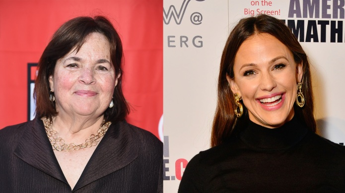 Ina Garten and Jennifer Garner