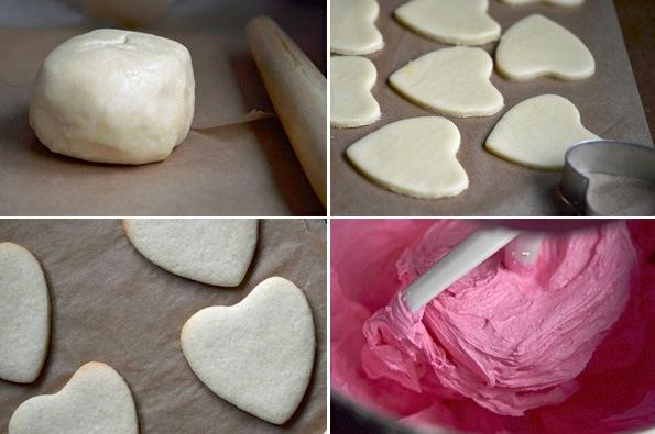 gluten-free sugar cookies process