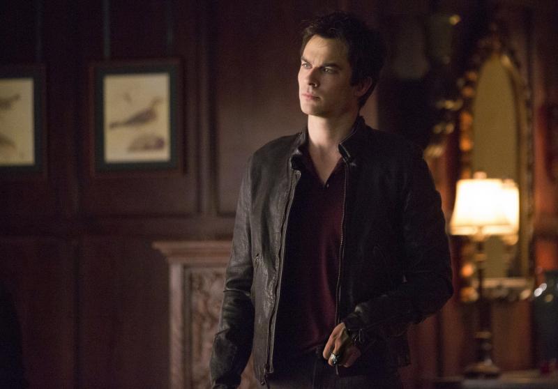 Damon in The Vampire Diaries