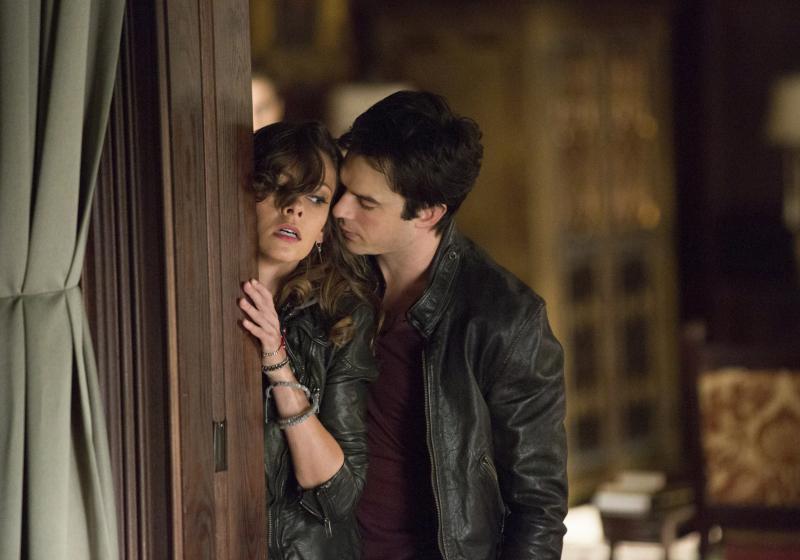 Damon and Nadia in The Vampire Diaries
