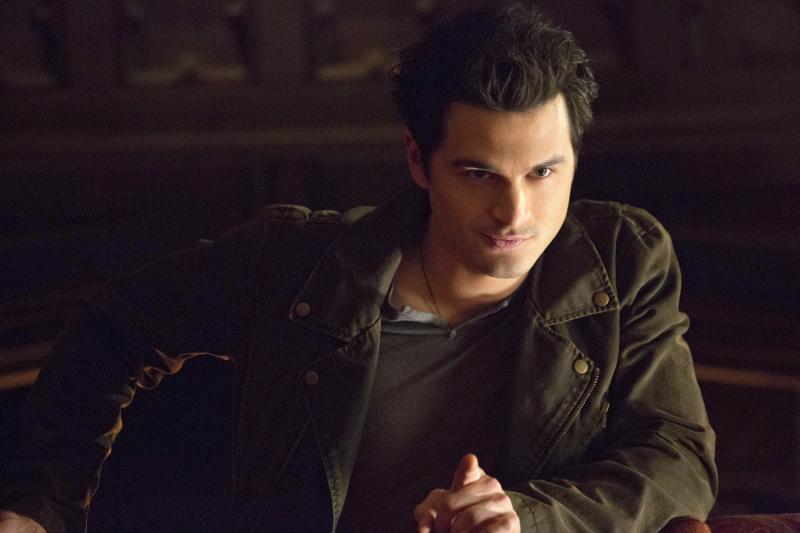 Enzo in The Vampire Diaries