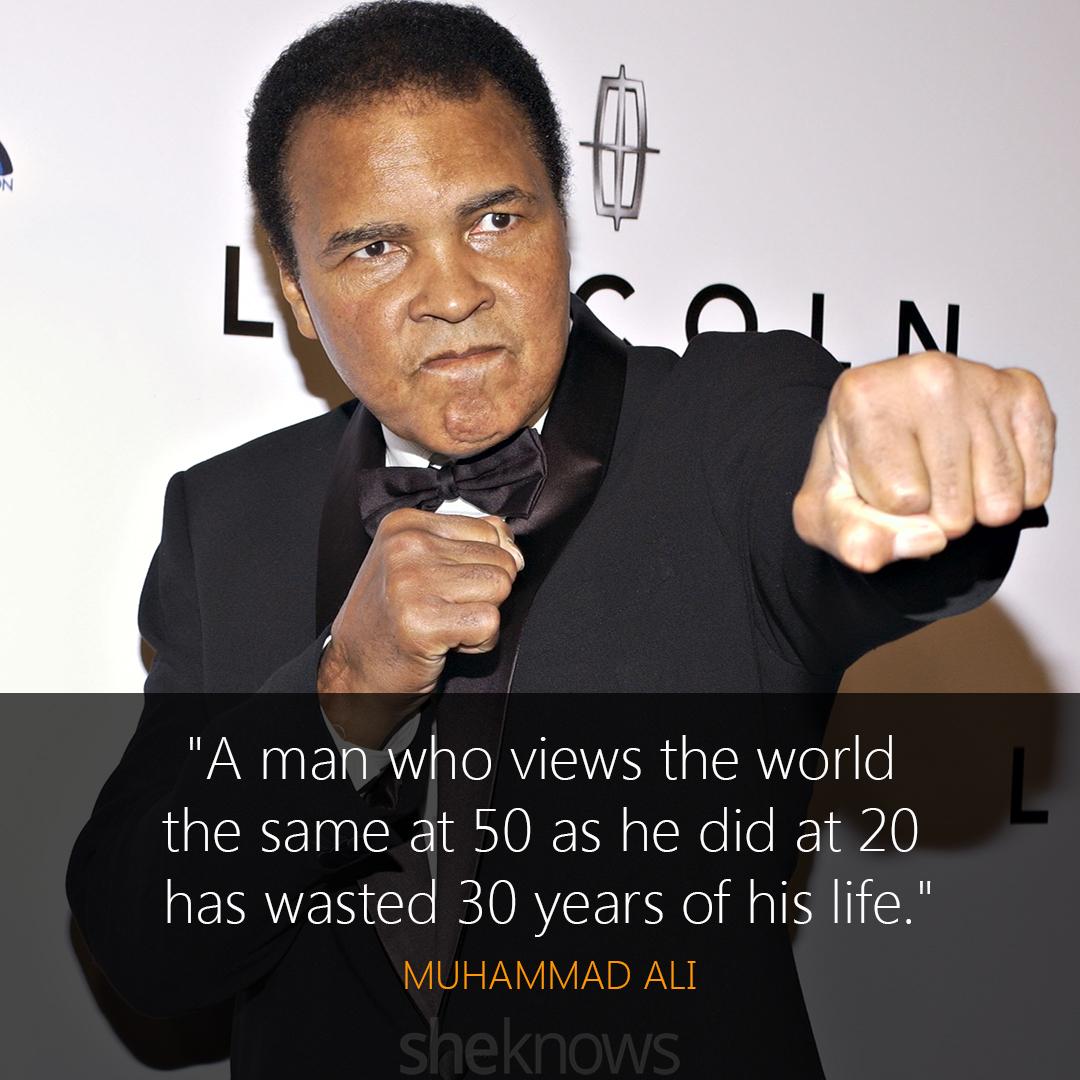 Muhammad Ali quote