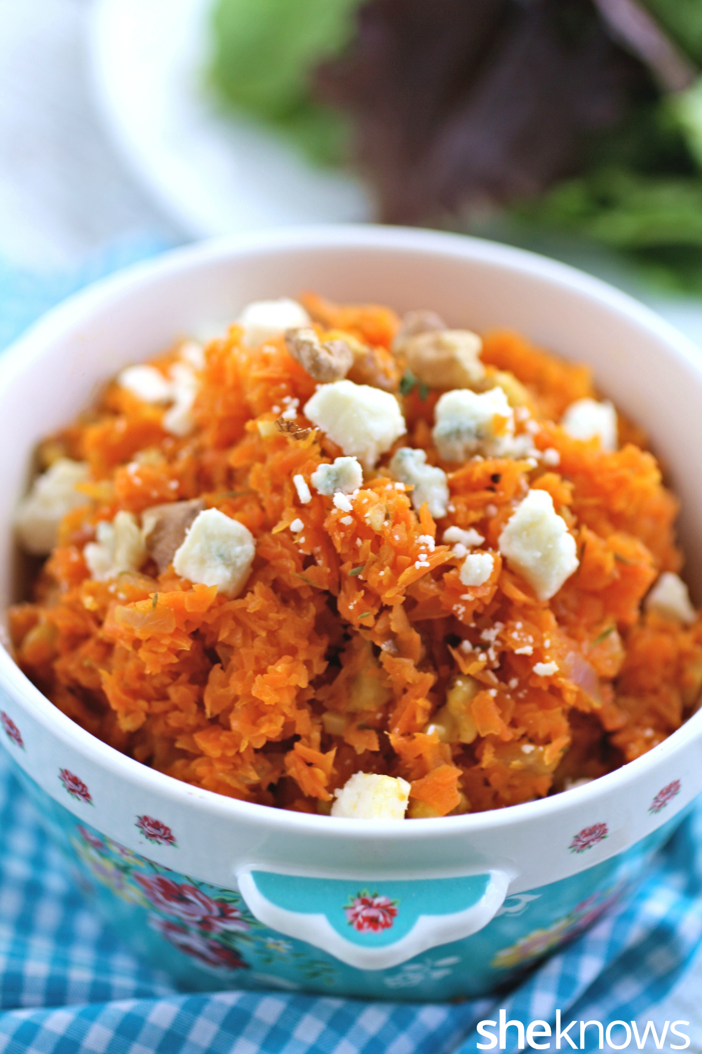 You won't miss the rice in carrot