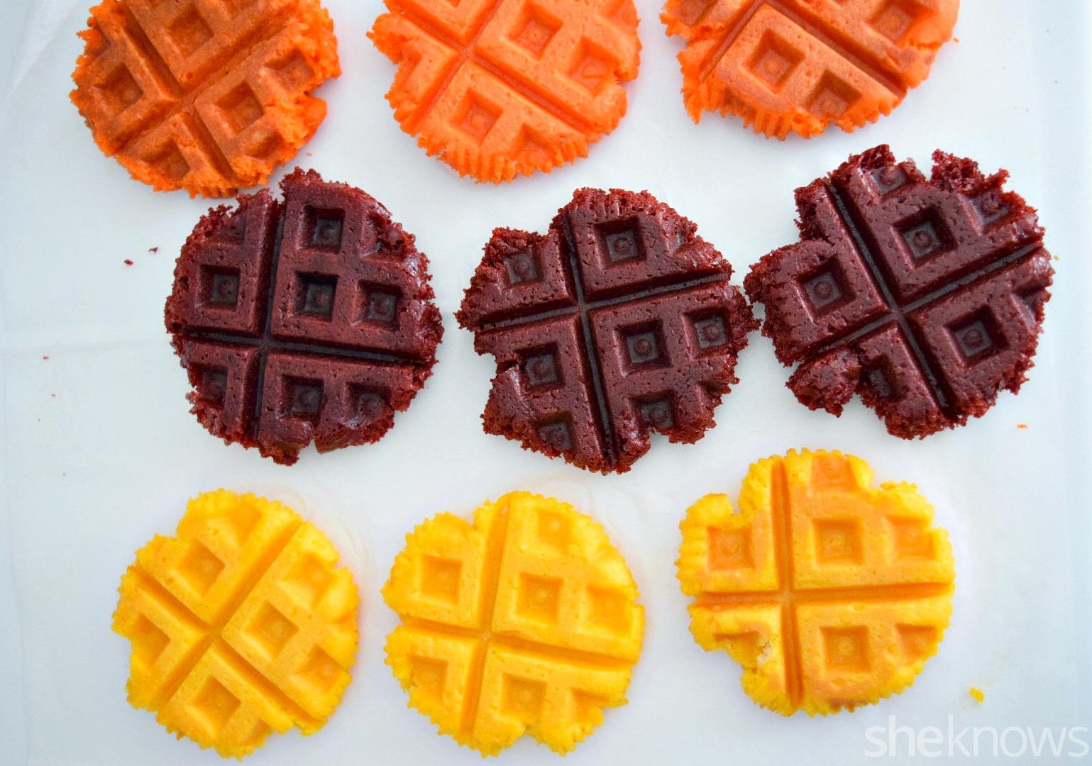 waffle cupcake 2