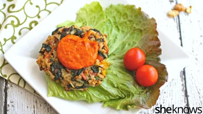 Meatless Monday: Veggie burgers packed full