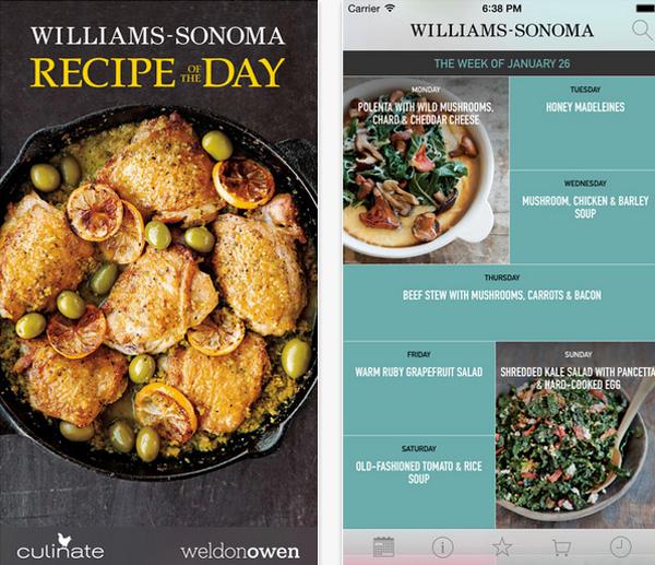 Williams-Sonoma Recipe of the Day