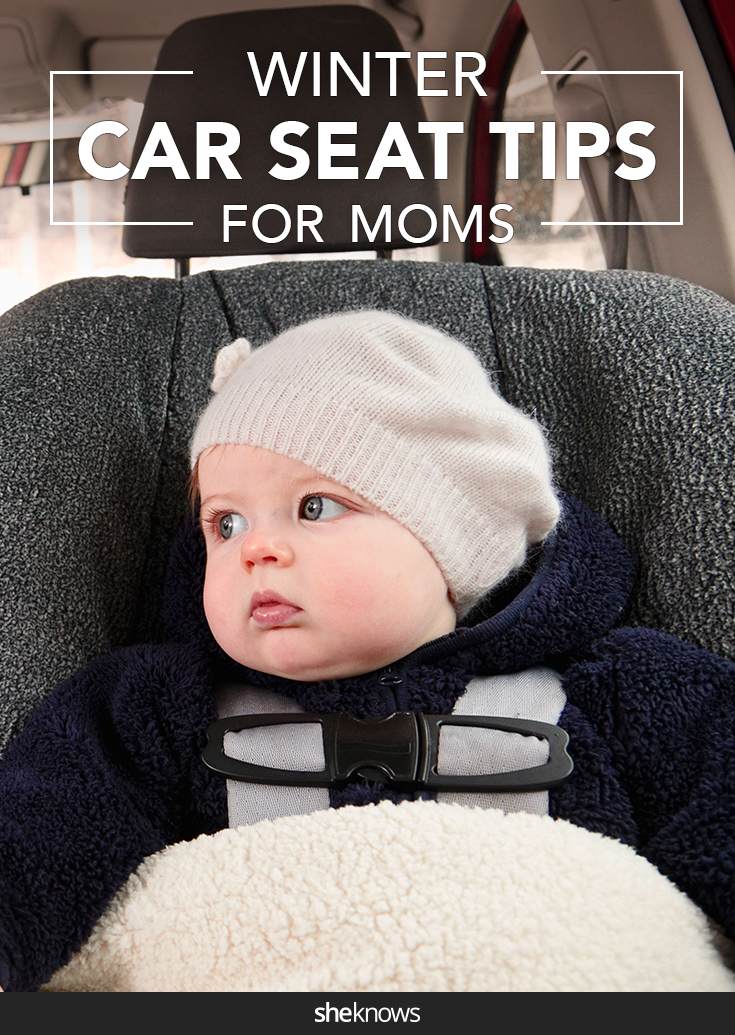 Winter car seat tips