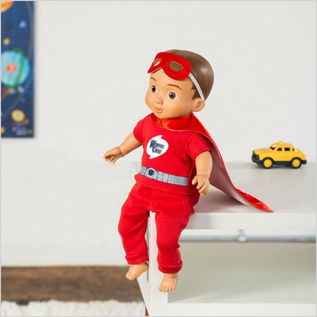 Wonder crew doll