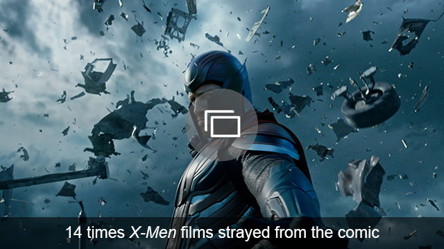 X-Men slideshow