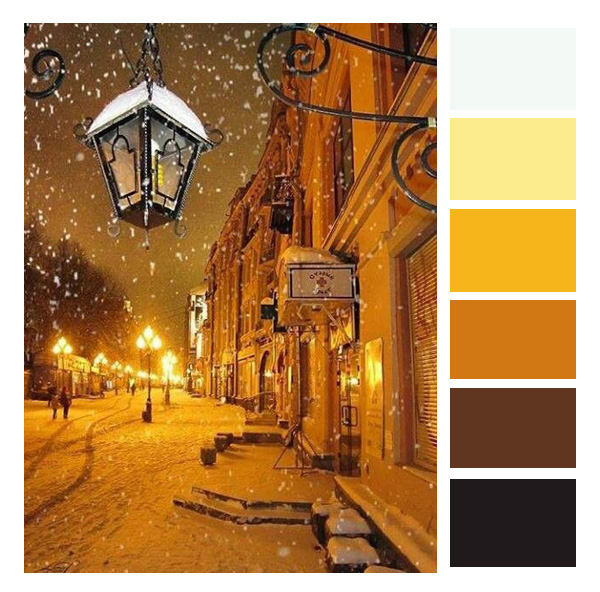 yellow street pallet