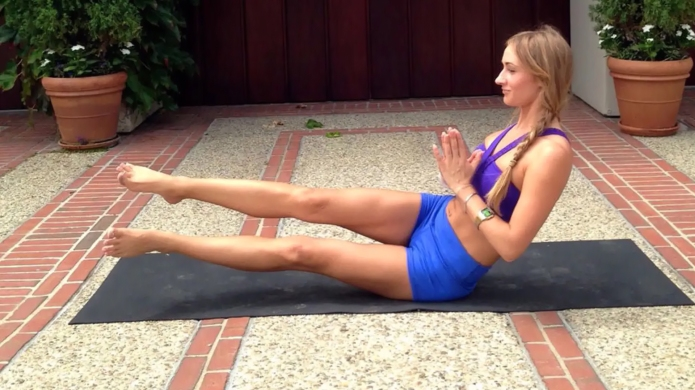 Yoga Poses for Toned Thighs