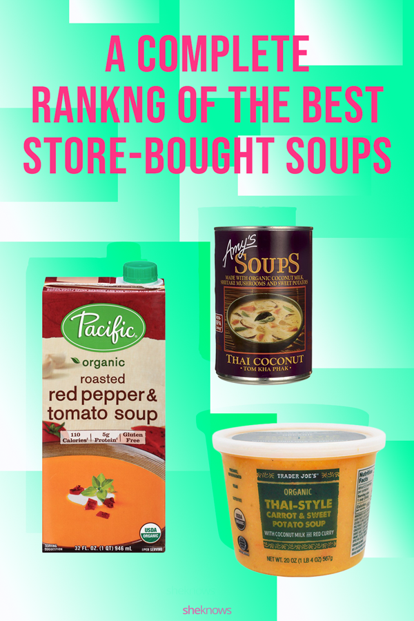 Best store-bought soups