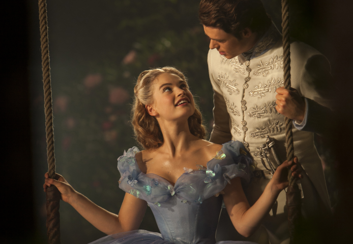 Cinderella: The glass slippers are actually