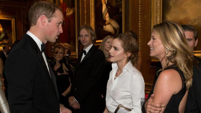 Emma Watson, Kate Moss join Prince