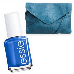 Hot handbags and nail polish to