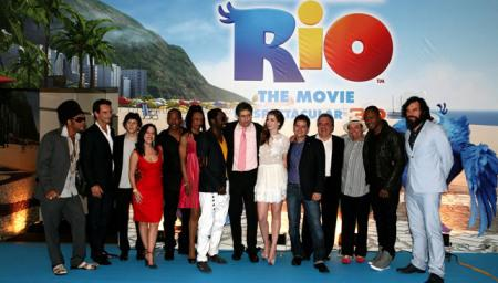 Rio premiere: From Rio to Hollywood!