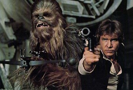 Harrison Ford reveals feud with... Chewbacca?