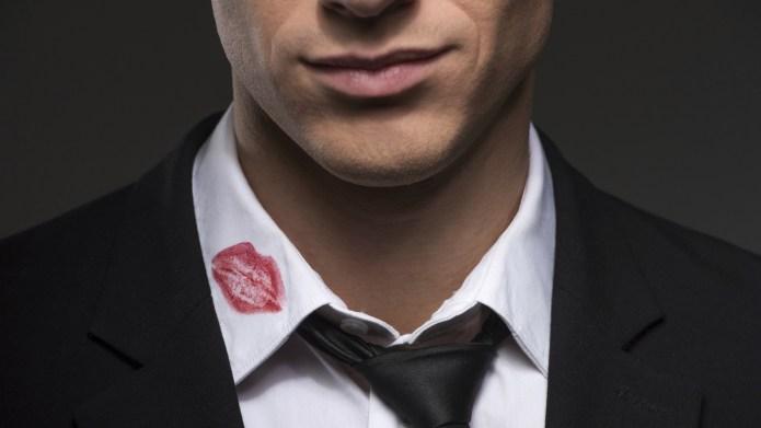 Lipstick on your collar.