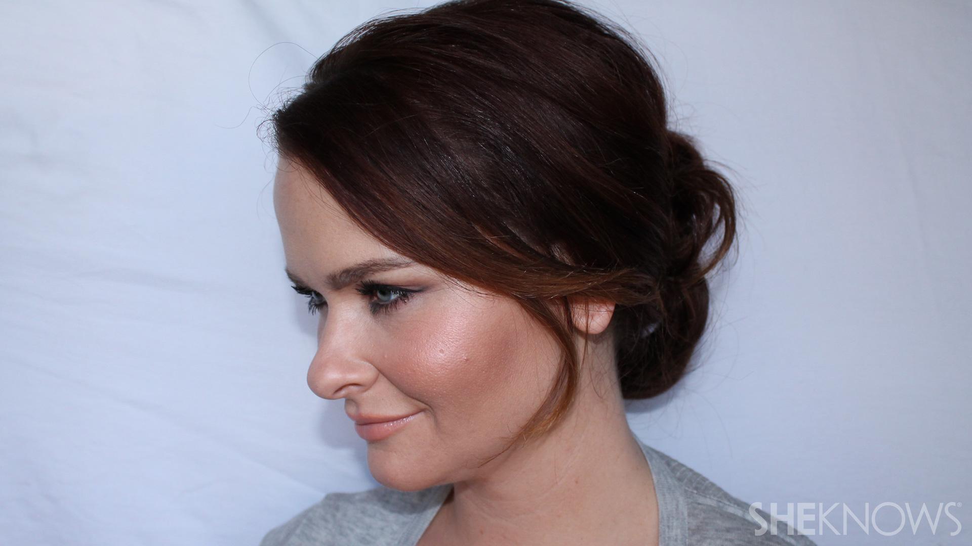 Easy Voluminous Updo Tutorial For Thin Hair Sheknows