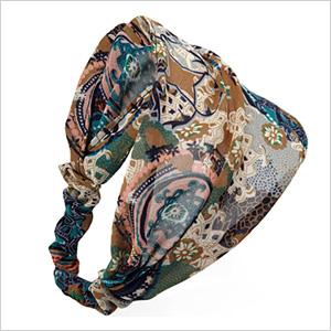 Boho headscarf