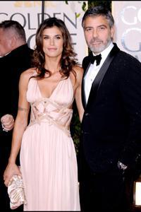 George Clooney: Elisabetta Canalis drove him