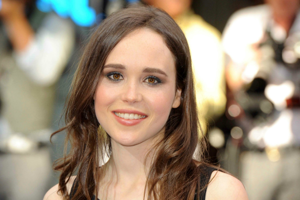 Actress Ellen Page at the UK Premiere of Inception