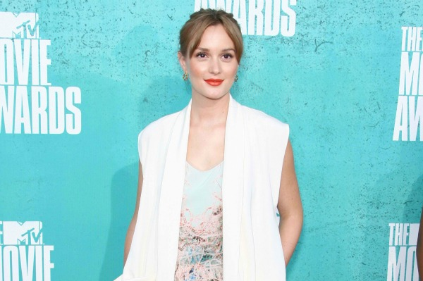 Actress Leighton Meester at the MTV Movie Awards