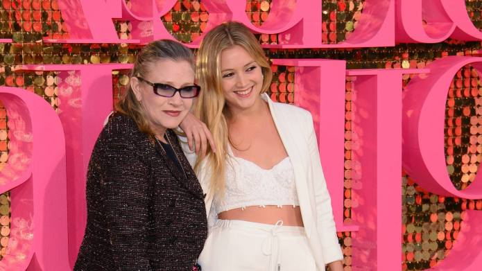 Billie Lourd beautifully remembers Carrie Fisher