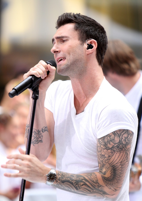Adam Levine on The Today Show
