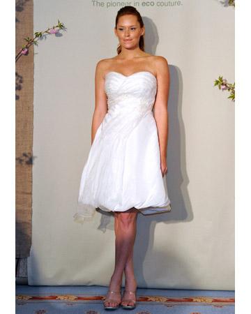 Short Spring Wedding Dresses