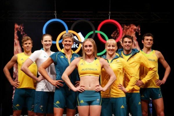 Australia Olympic uniforms