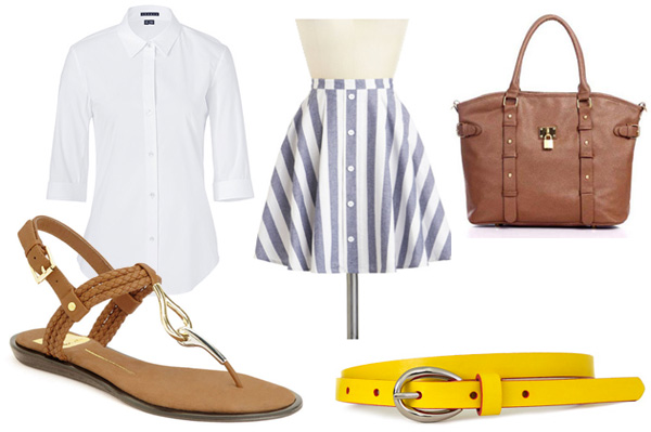 Dolce Vita Deli Sandals outfit for work