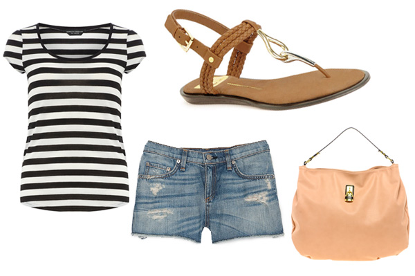Dolce Vita Deli Sandals outfit for weekend
