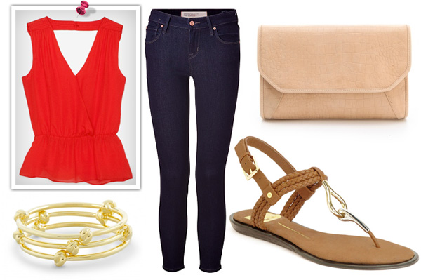 Dolce Vita Deli Sandals outfit for girls night out