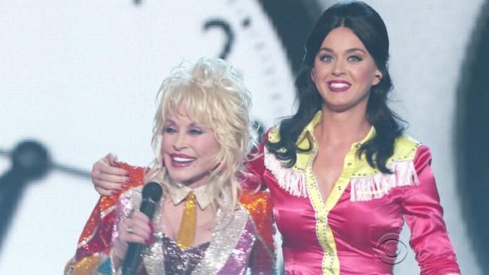 Dolly Parton, Katy Perry's ACMs performance