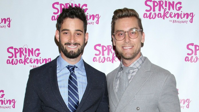 Lance Bass shares wedding video to