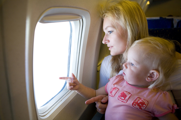 air travel with baby